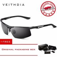VEITHDIA 6562 Kacamata Hitam Pria Sport Polarisasi Aluminium Sport dan