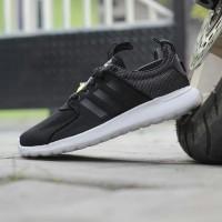 Sepatu Adidas Neo Cloudfoam Lite Racer Core Black Original BNWB