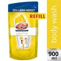 Sabun Lifebuoy Lemon Fresh Refill 900ml / 900 ml Kuning