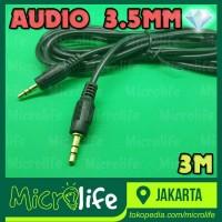 KABEL AUDIO AUX 3.5MM 3M TEKNOMINI HEADPHONE SPEAKER SMARTPHONE CABLE