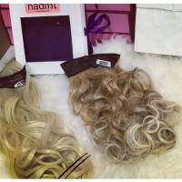 hairclip rambut Blonde White
