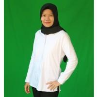 Baju Kemeja Wanita Putih Panjang Murah