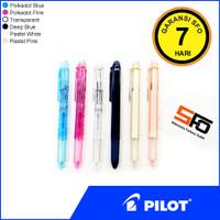 Pen Pilot Hi-tec C Coleto isi 3 - kosongan - Pastel White