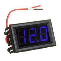 """Voltmeter Digital 0.56"""" Biru Blue 0.56 4.5V - 30V DC Volt"""