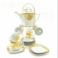 Tea set Vicenza T76 / Perangkat Minum Vicenza / T76 / Teko Cangkir Set