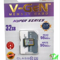 Memori memory card hp mikro V-Gen Micro Sd 32Gb Cl SXAZ111852