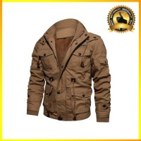 NEW Winter Military Jacket Men Casual Thick Thermal Coat Army Pilot