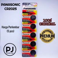 Baterai Panasonic CR2025 Original - 1 lembar isi 5