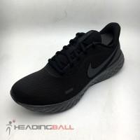 Sepatu Running/Lari Nike Original Revolution 5 Black BQ3204-001 BNIB