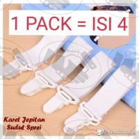 Pengait sprei Karet / Jepitan Sudut Sprei / Bed Cover Accessories