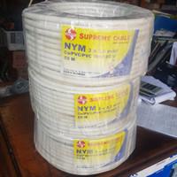Kabel Supreme NYM 3x2.5 mm 3x2,5 mm 50 meter