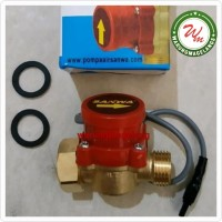 "Water Flow Switch 3/4"" X 1/2"" Saklar Otomatis Pompa Air TERMURAH"