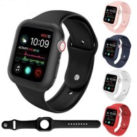 Tali Apple Watch Silicone Rubber strap case sport band series 4 5 6