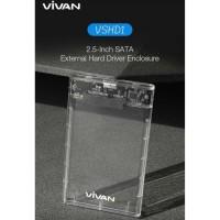 "Casing Hardisk VIVAN SSD HDD External Case 2,5"" USB3.0 - VIVAN VSHD1"