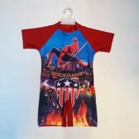 baju renang anak sd laki usia 6-8 tahun/baju diving/baju renang anak
