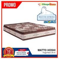 BIG SALE !! Spring Bed Matto Hoshi 200x200 Hanya Kasur | Busa Inoac