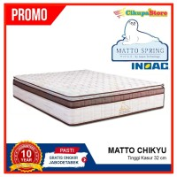SALE 50% OFF Spring Bed Matto Chikyu 200x200 Hanya Kasur | Busa Inoac