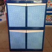 lemari plastik tabitha 2 susun mini