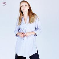 Bodytalk Shirt Celio Blue White 23353T5BI