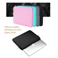 SCL01 Softcase Laptop Notebook 13 inchi Zipper Polos