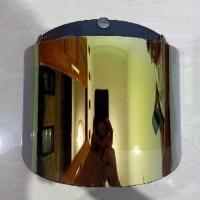 Flat visor helm retro / helm bogo datar pnp cargloss/jpn/jp/mvistar