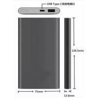 Xiaomi Power Bank Super Thin Portable USB Type C 10000mAh (OEM) - Gray