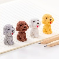 Penghapus Lucu boneka anjing mini - penghapus pensil - satuan