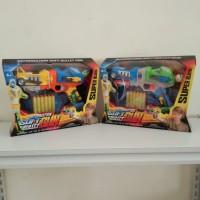Mainan Pistol Nerf Anak - Soft Bullet Blaster Elite field Arm Murah