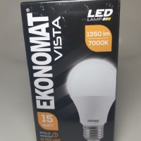 Lampu led ekonomat 15w putih terang