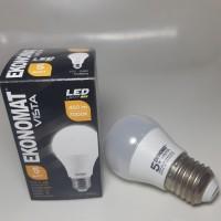 Lampu Led Ekonomat Vista 5w putih 450 lm