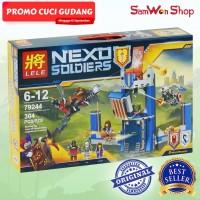 PROMO CUCI GUDANG - LEGO LELE NEXO SOLDIERS THE MERLOCKS LIBRARY 79244