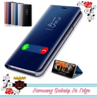 Case Samsung Galaxy S6 Edge Standing Cover Clear view