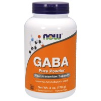Now Foods GABA Pure Powder 6 oz (170 g)