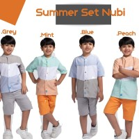 baju anak lakilaki summer set nubi