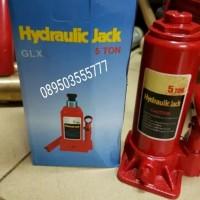 Dongkrak Botol - Hydroulic Bottle Jack Capacity 5 Ton - Dongkrak Mobil