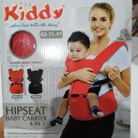 Kiddy 7197 HipSeat Baby Carrier 4in1