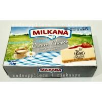 Milkana Cream Cheese 227gram Kemasan mini Praktis BEST SELLER
