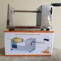 Pemotong Kentang Spiral Manual / Twisted Potato Slicer