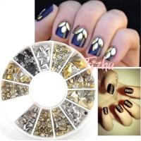 nailart glitter / pearl nailart / stud nailart / glitter nailart wheel