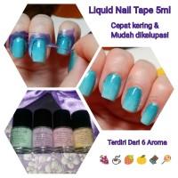 mini liquid nail tape pelindung jari peel off mess no more latex