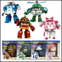Mainan - Robocar Poli Transform 1 set 4pcs last stok