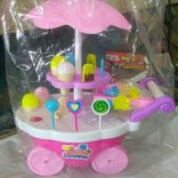 Mainan Anak Troli Es Cream Sedang