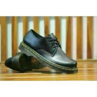 Sepatu Docmart pria 3 hole boots Dr martens low boots black Murah