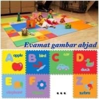 PALINGLARIS matras lantai untuk bayi / anak evamats / evamat abjad