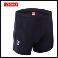 Koleksi Terbaru Veobike Men'S Bike Shorts / Celana Dalam Sepeda