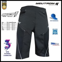 New Items Celana Sepeda Str Neutron-G | Size L - Hitam, M Mewah Dan