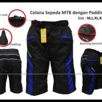 Spesial Edition Celana Sepeda Mtb Dengan Padding, Kode : Csl-80 -