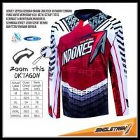 Promo Jersey Sepeda Timnas Indonesia Bahan Soft Dryfit | Baju Sepeda
