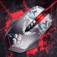 Bloody Gaming Mouse R80, Infrared Switch, 7 Prfl Macro, Wireless, Ori