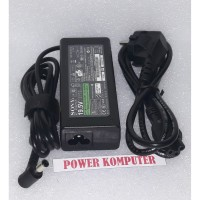 Adaptor Charger Laptop Sony Vaio 19.5v 3.9a pin 6.5x4.4mm